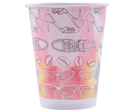 12oz Single Wall Hot Cups