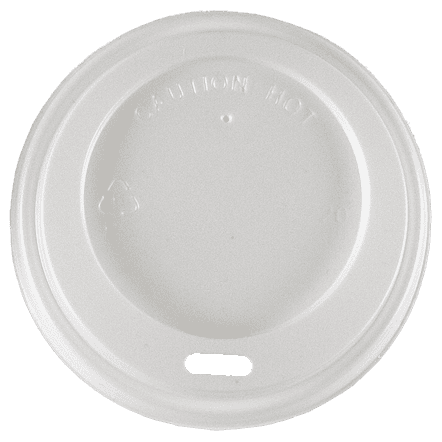 8oz White Hot Lids