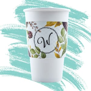 Printed Dimpled Coffee Sleeves