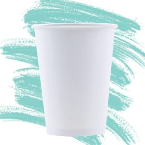 Unprinted Single Wall Hot Cups